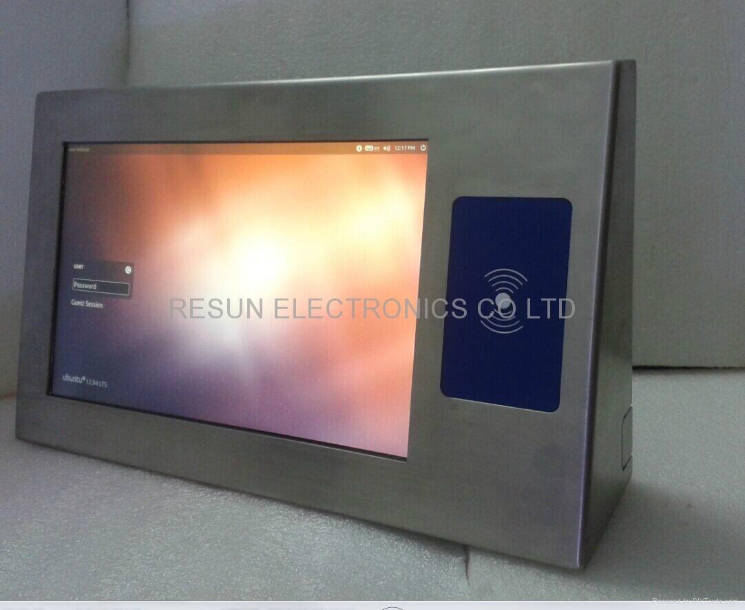 fanless industrial panel PC