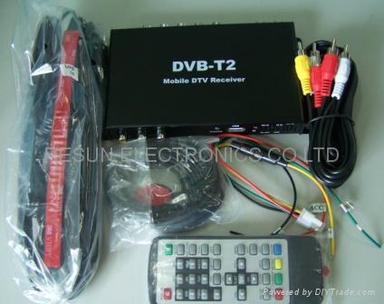 Car Dvb T2 Receiver Eb Dtr59 Resun Hong Kong Manufacturer