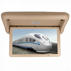 22 inch Fully Motorized Overhead Flip Down Ceiling Mount Car TFT LCD Monitor