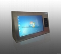 Stainless Steel Industrial Touch Screen Panel PC with RFID reader