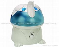 新飛加濕器/負離子氧吧/大象寶寶/滋潤空氣/淨化環境