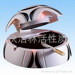 活性炭除臭烟灰缸(足球型)