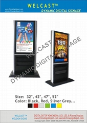 WELCAST Digital Signage Free Standing