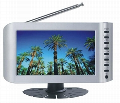 "7"" ISDB-T+Analog TV with Card reader/USB"