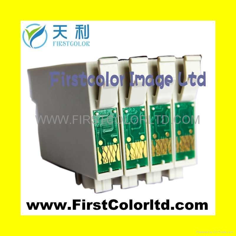 爱普生兼容墨盒ICBK61 ICC62-ICY62墨盒芯片 1