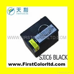 COMPATIBLE EPSON SJIC6 ink TM-J7100/J9100/j7600 receipt printer  INKJET CARTRID