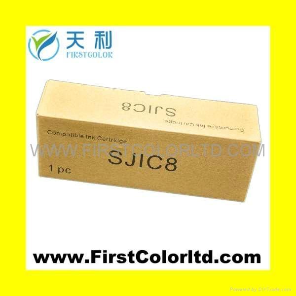 SJIC3 BK  POS票据墨盒 SJIC4 RED 5