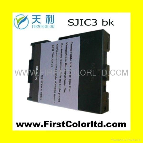 SJIC3 BK  POS票據墨盒 SJIC4 RED 1