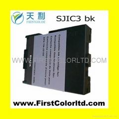 COMPATIBLE EPSON SJIC3 BK ink  SJIC4 RED INK TM-J2100 receipt printer