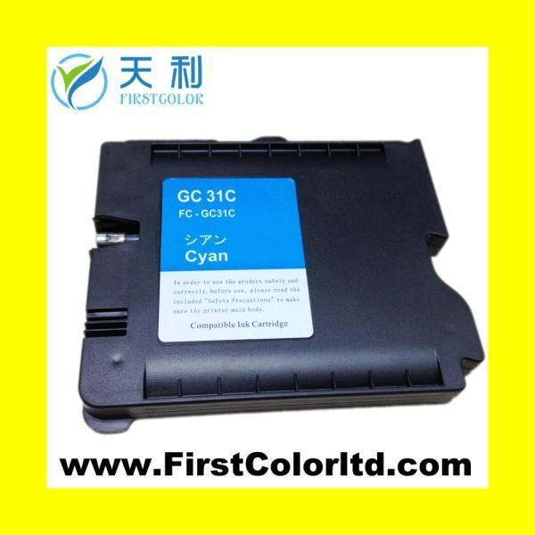 兼容理光墨盒Ricoh ink GC21/GC31墨盒墨水 GC21H GC31H 1