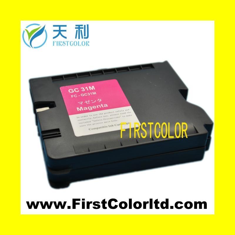 兼容理光墨盒Ricoh ink GC31墨盒墨水GC31H,GC31XL 1