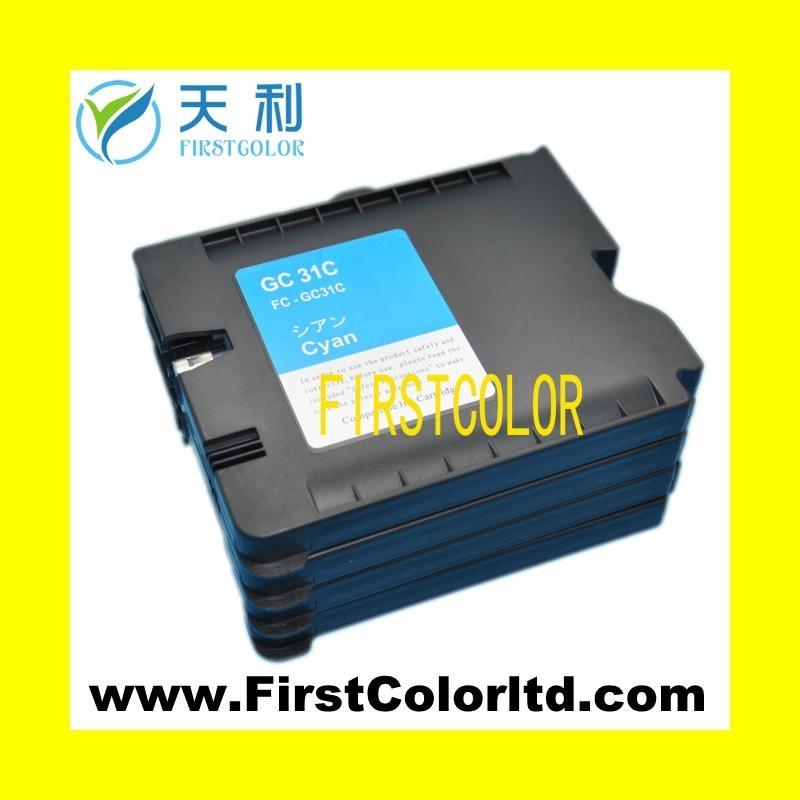 兼容理光墨盒Ricoh ink GC31墨盒墨水GC31H,GC31XL 2
