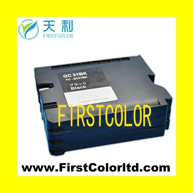 兼容理光墨盒Ricoh ink GC31墨盒墨水GC31H,GC31XL 5