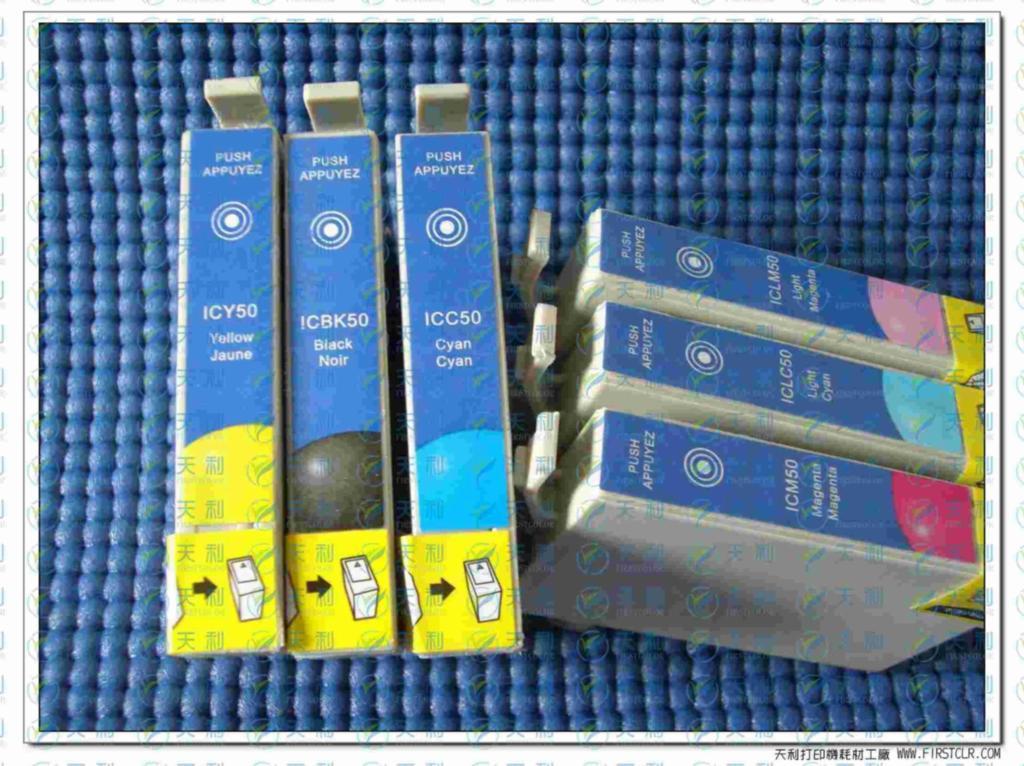 IC6CL50/ICBK50系列愛普生兼容墨盒 1