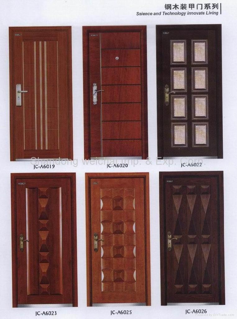 Steel - Wood Armed Door