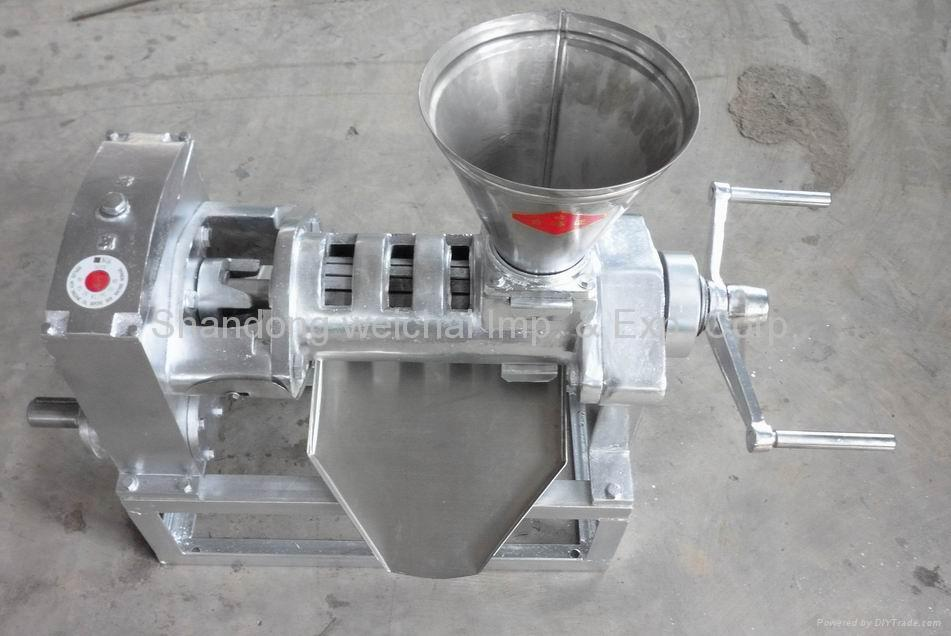 Stainless steel oil press 1