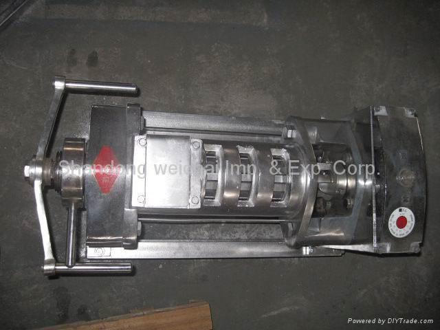 Stainless steel oil press 2