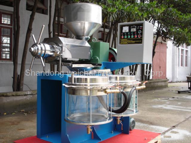 Oil press zy 8c zy 12c china manufacturer food for Food bar press machine