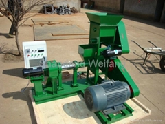 fish foodstuff floating Pelleting machine