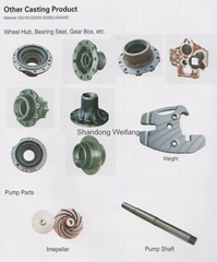 Wheel Hub,Bearing Seat,Gearbox