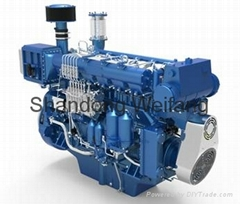 Weichai 300~620Hp Marine engine (Hot Product - 1*)