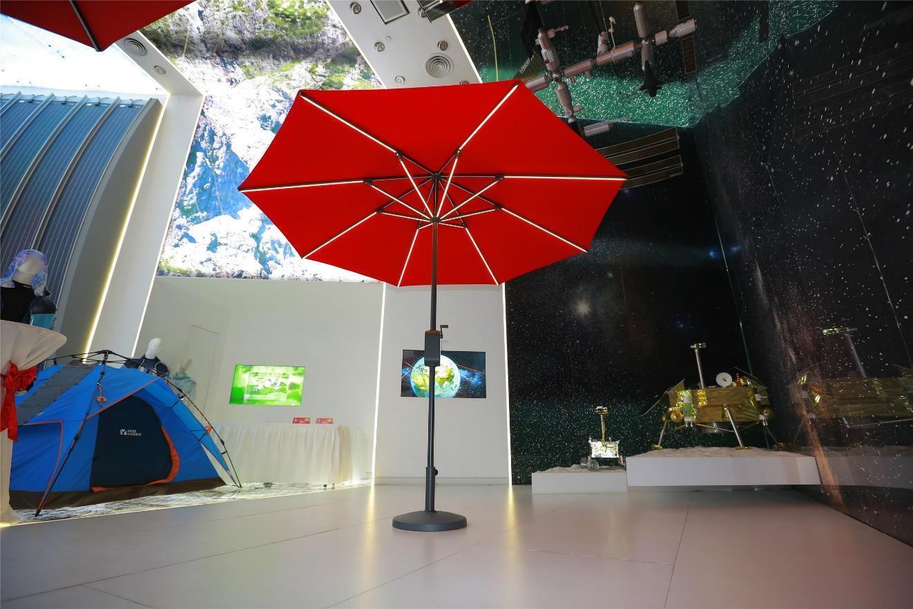 Potable Solar Panel Umbrellar 1