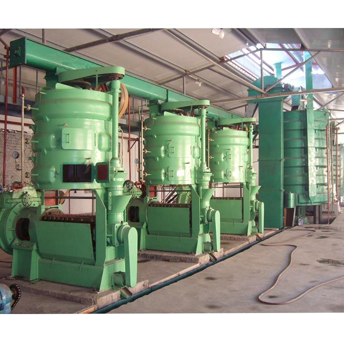 OIL PRESS WITH 70~80 TONS PER DAY CAPACITY 5