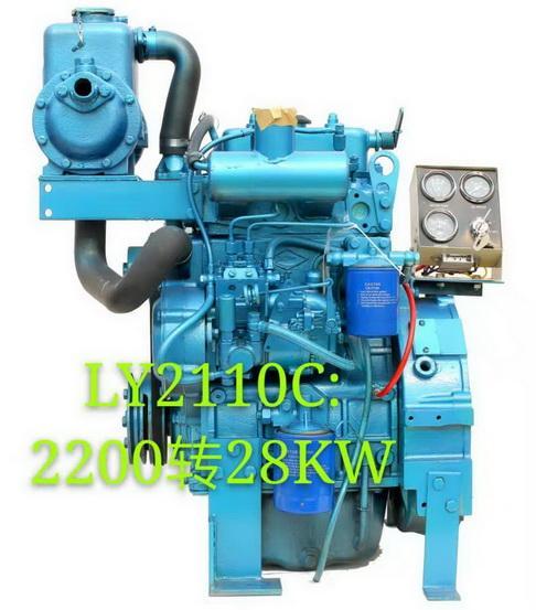 2 Cylinders Marine engine  1
