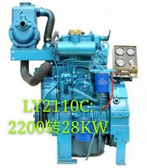 2 Cylinders Marine engine