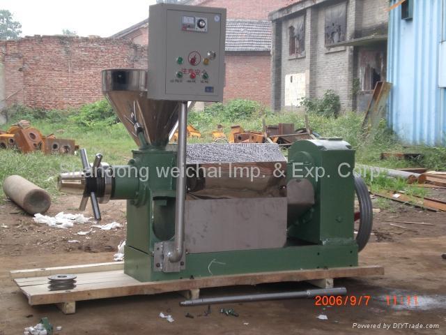6YL-160 Bio oil press 1
