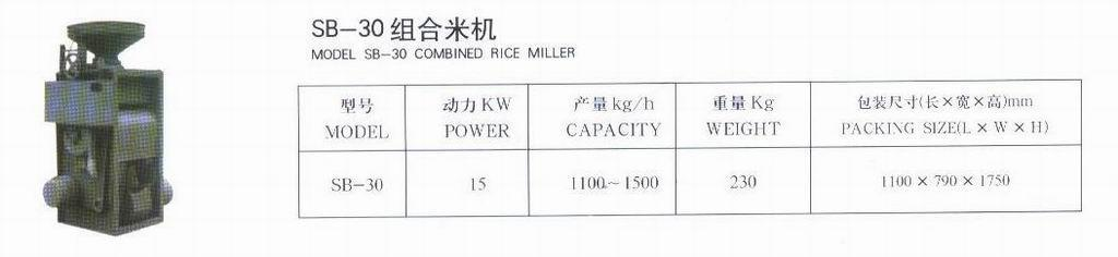 Combined Rice mill 1