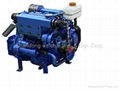 High speed Marine engine sets