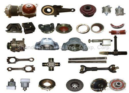 spare parts for heavy duty truck