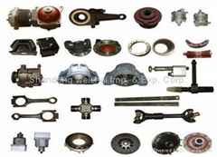 spare parts for heavy du