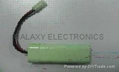 RC Hobby Battery RC-NiMH-2/3A1600P7.2V Line