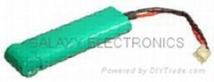 RC Hobby Batteries RC-NiMH-SC4000P8.4V 6+1type