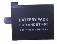 Replacement Battery for Gopro Hero 4