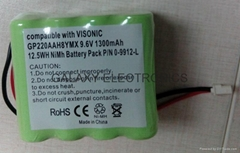 NI-MH RC Hobby Battery RC-NIMH-AA 1300 9.6V