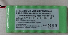 NI-MH RC Hobby Battery RC-NIMH-AA 2200 9.6V