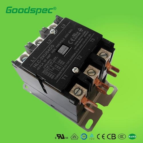 HLC-3XU04GG (3p/40A/208-240VAC) Definite Purpose Contactors