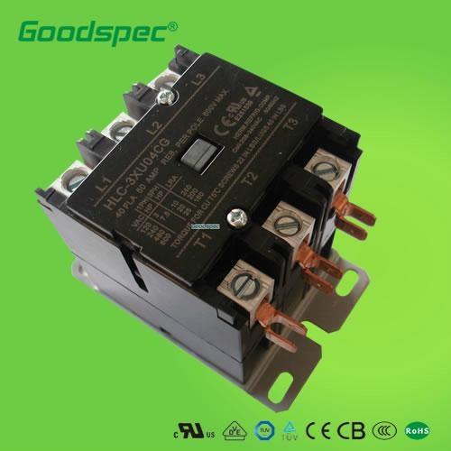 HLC-3XU04CG(3P/40A/240V)交流接触器 1