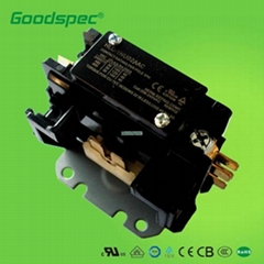 HLC-1NQ02AAC(1P/30A/24VAC) Definite Purpose Contactors