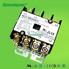 HLC-4XW00CY(4P/20A/400VAC) Definite Purpose Contactor