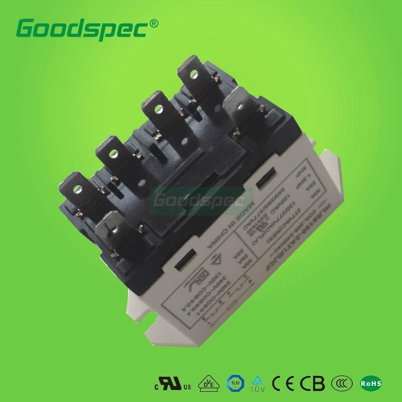 hlr6100-2atubcf-ac120 power relay