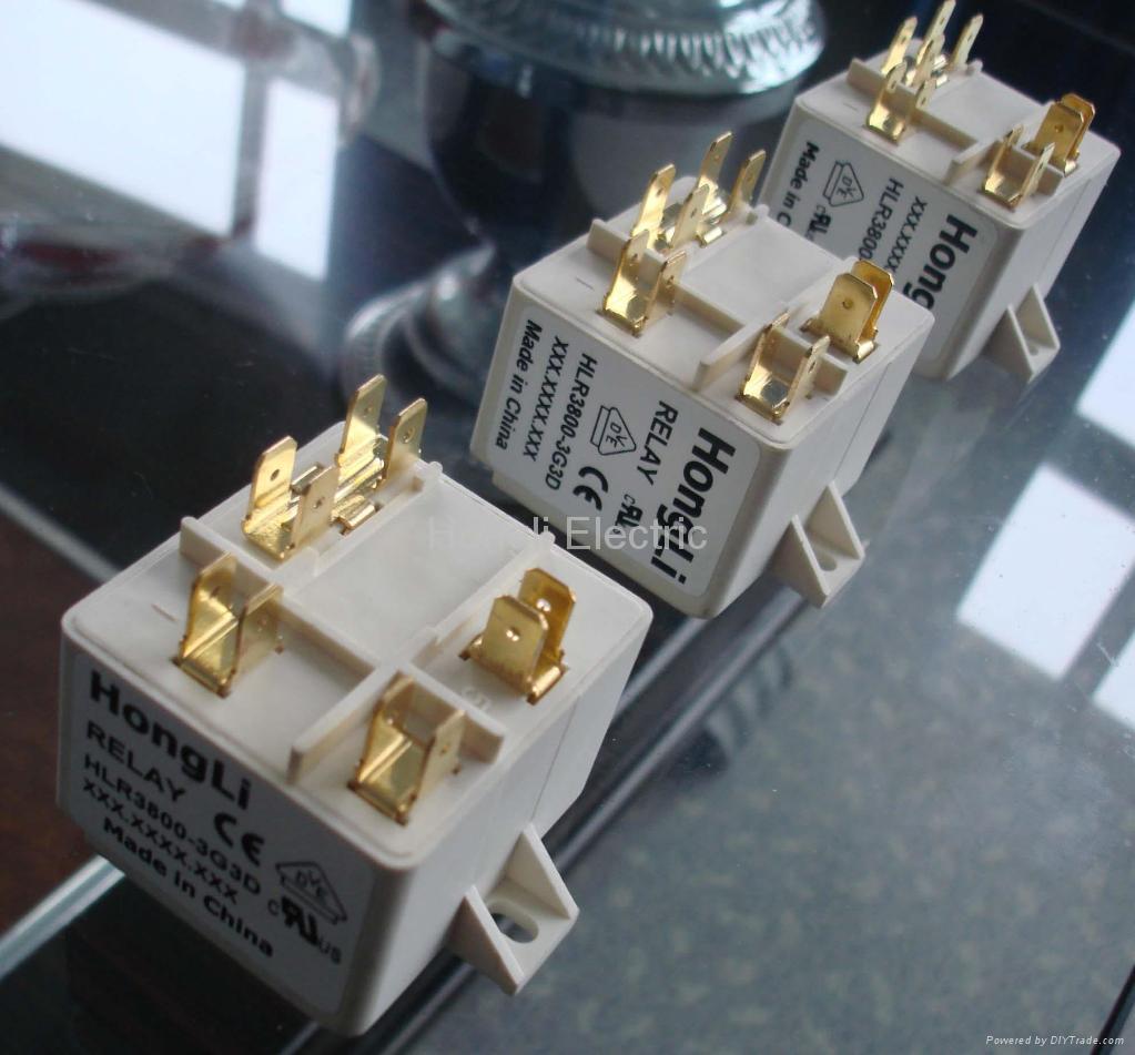 供应HLR3800-2E3D空调启动继电器 2
