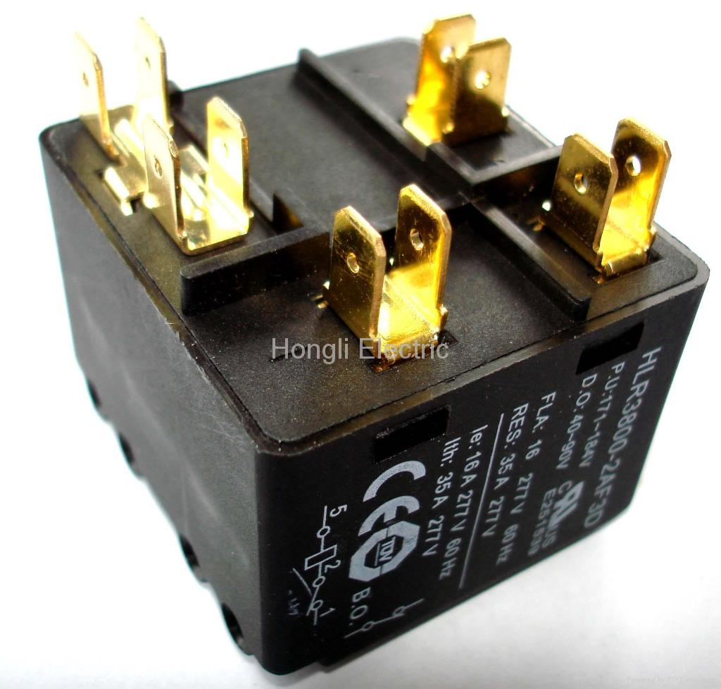 供应HLR3800-2E3D空调启动继电器 3