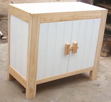 solid elm wood side board 1