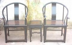 antique reproduction armchair