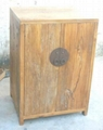 originally weathered old wood closet