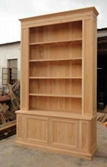 solid elmwood bookcase